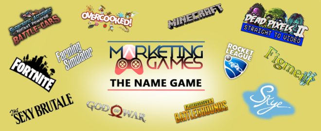 The Name Game: How important are video game names