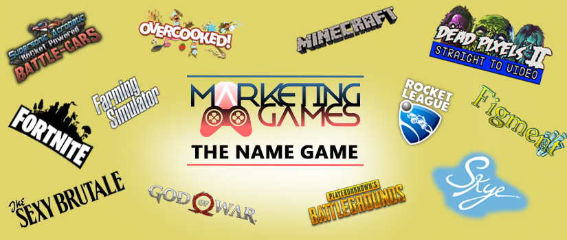 The Name Game: How important are video game names?