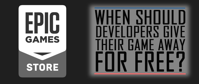 When Should Developers Give Their Game Away for Free?